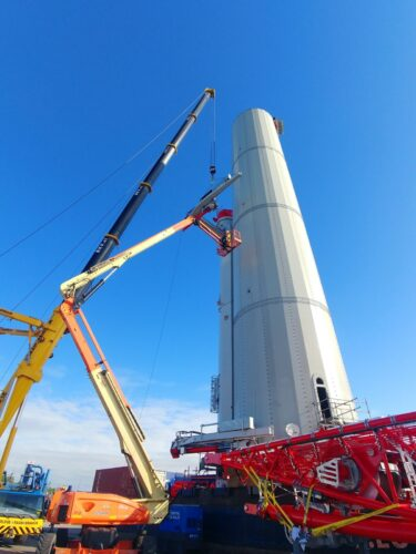 Climbing Crane