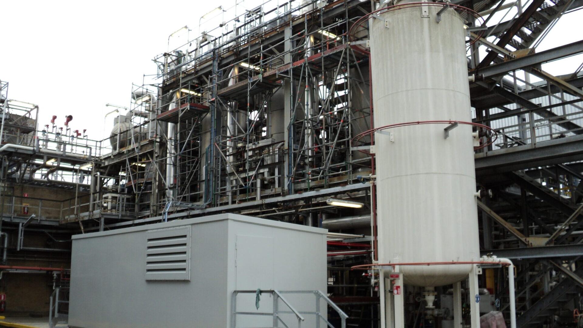Hydraulische installatie Trinseo