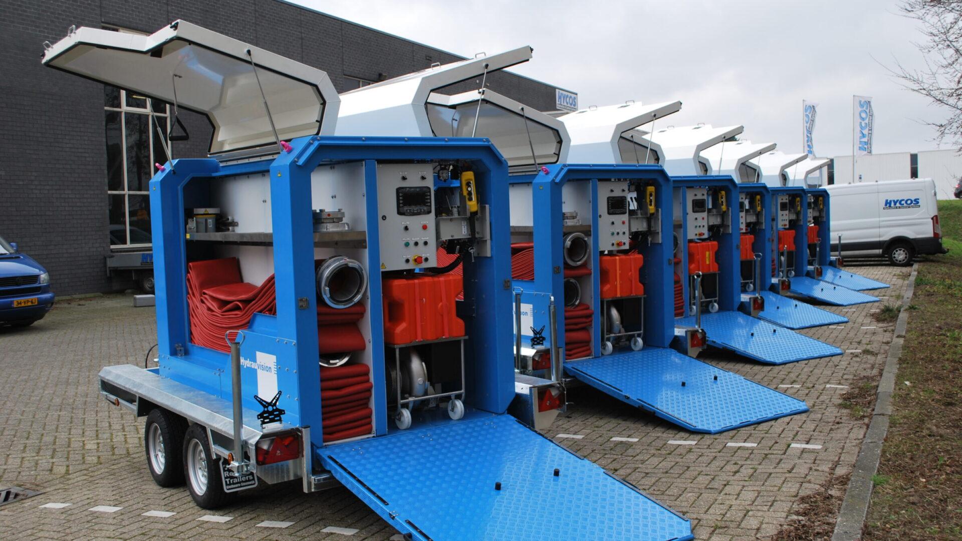 Mobiel waterpompsysteem