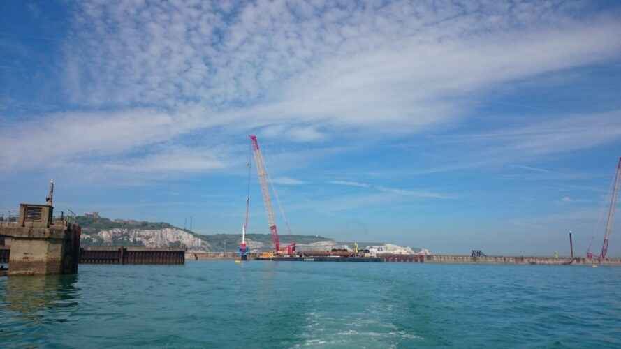 Combi Wall Piling Template Dover